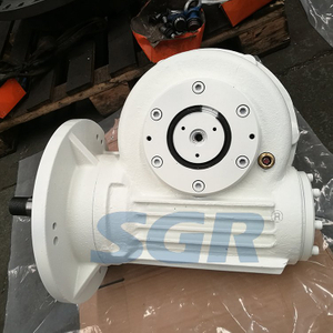 TOP()-()数控切纸机机专用環面蝸杆減速器
