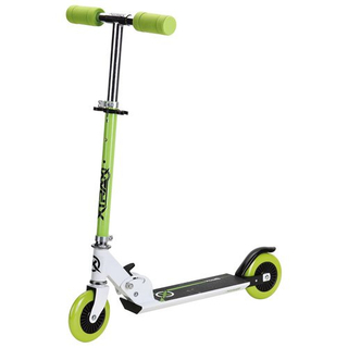 Half steel half aluminium scooter with 125mm PU wheel