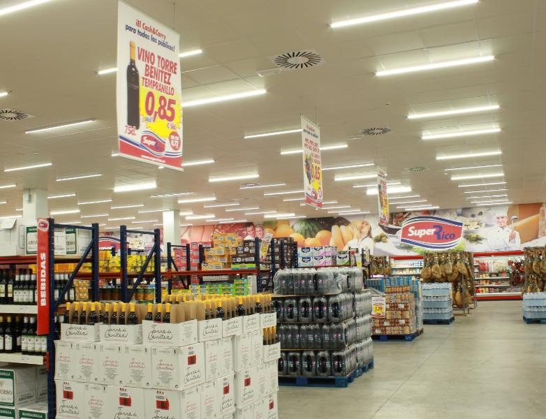 led超市照明