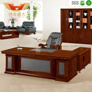 广东鸿业办公家具 厂家直销 办公桌 高档豪华总裁班台 HY-D4822