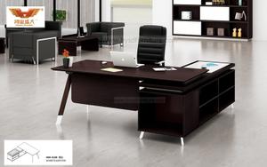 厂家直销 黑橡木办公桌 现代时尚办公室大班台 H80-0169