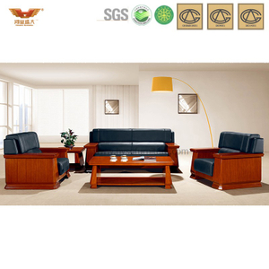 办公沙发 皮制现代接待沙发 现代时尚办公室接待真皮沙发 HY-S937