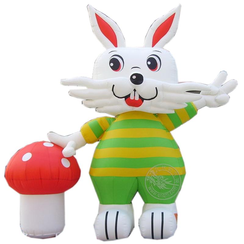 卡通气模兔子