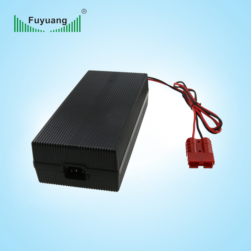 24v 13a lead acid battery charger with anderson connector 01