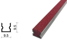 金剛砂地下室防滑坡道防滑條-9.5*9.5 mm