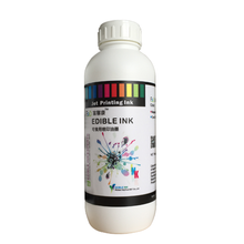 Edible Inkjet Ink for Spray Printing