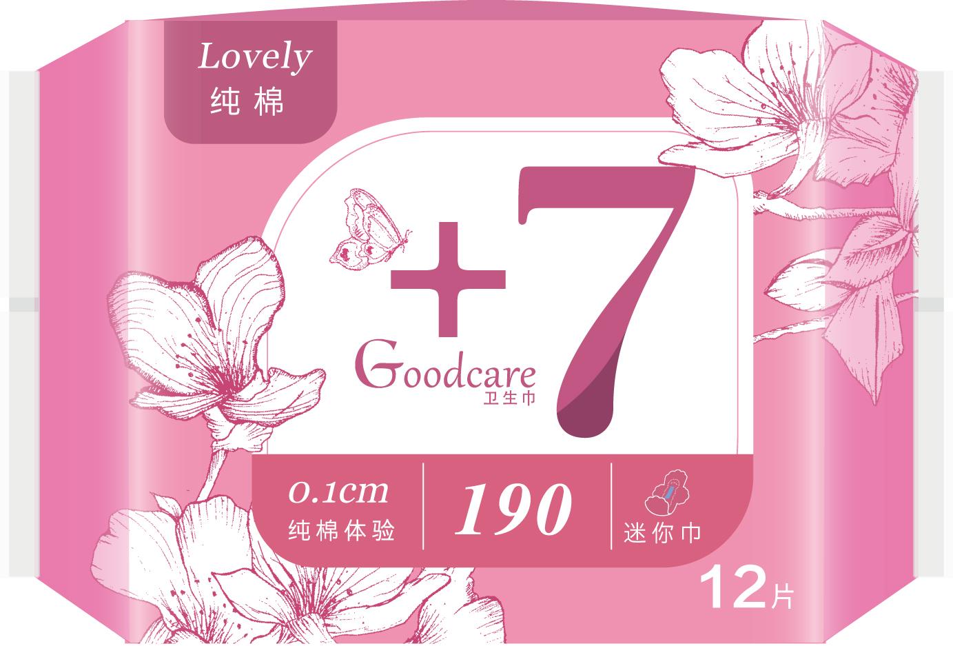 +7纯棉体验190mm迷你巾12片