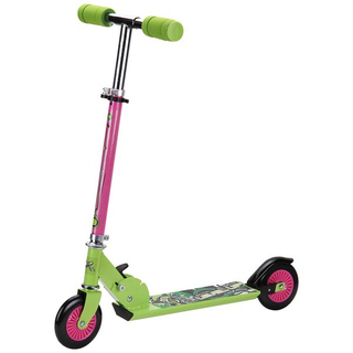 Full steel scooter with 120mm soft PVC wheel