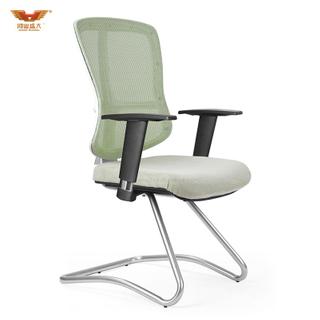 广东鸿业盛大办公家具 厂家直销 弓形脚办公椅 网布班前椅 HY-938H