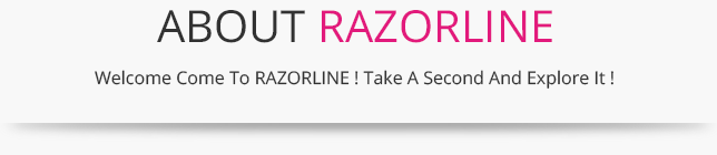 ABOUT RAZORLINE