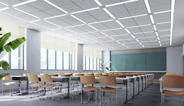 教室照明燈改造的圖片