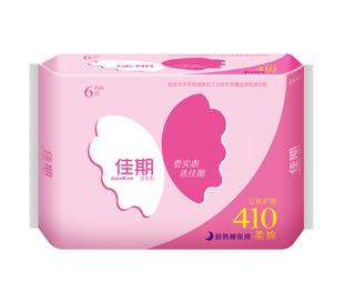 佳期超熟睡柔棉夜用卫生巾6片
