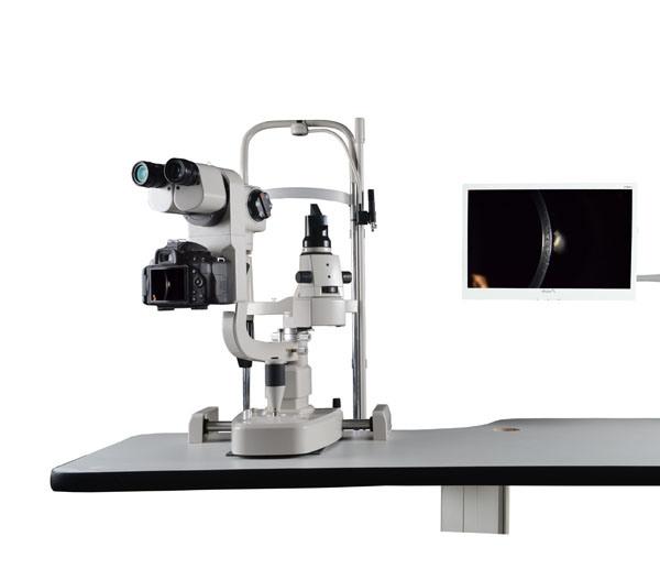 Slm-4X China Top Quality Ophthalmic Equipment Digital Slit Lamp