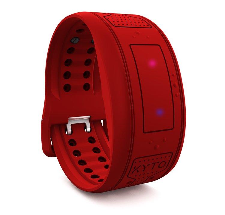 BLUETOOTH AND ANT+ HEART RATE SMART BAND - KYTO2540-red.jpg