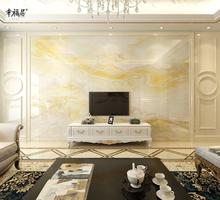 大理石纹背景墙专区 金色流年
