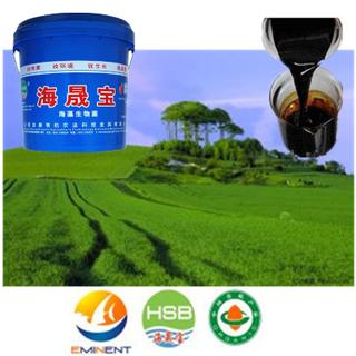 海草Bio Organic Water Fertilizer與NPK Fertilizer為施肥
