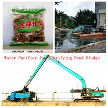海草Microbial Aquaculture Ball Water Purifier為Clarifying Pond Sludge