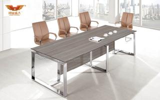 厂家直销 银松木中型会议桌 现代时尚办公室会议桌 H70-0366