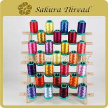 人造丝绣花线 试机线1000米小线,打样线,颜色齐全,现货
