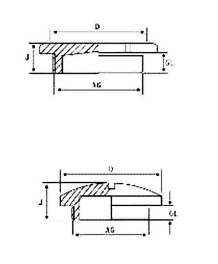 M线程数金属螺帽