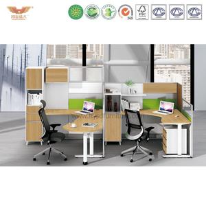 厂家直销 办公家具 二人位职员桌 屏风办公桌 鸿业盛大 H15-0814