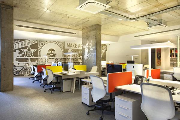 东莞办公室装饰设计公司效果图