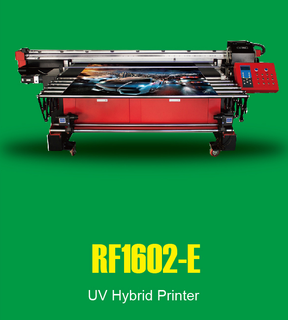 1.6m UV Roll To Roll And Faltbed All-In-One Printer