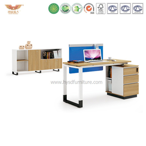 厂家直销 现代板式职员办公桌 时尚简约职员台 H90-0204