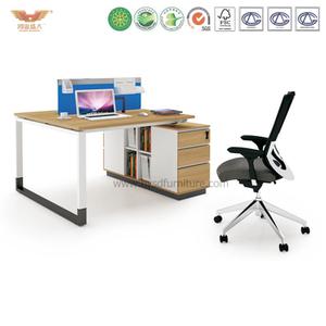 厂家直销 现代板式双人组合台 时尚简约职员办公桌 H90-0206