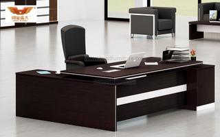 厂家直销 黑橡木办公桌 现代时尚办公室大班台 H80-0160