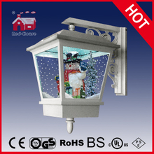 (LW40045G-W) Outdoor&Indoor Lighted Snowing Wall Lamp