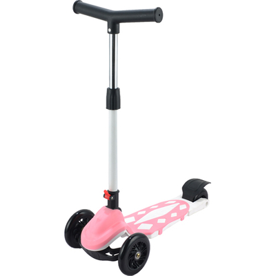 Kids foldable tri-wheel scooter