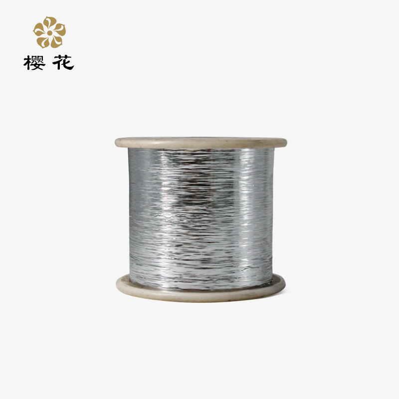 ?;ㄅ芃型金银线 日本jin口原材料扁金银丝 M型膜镀银电脑绣花线