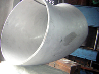 Stainless steel elbow big size