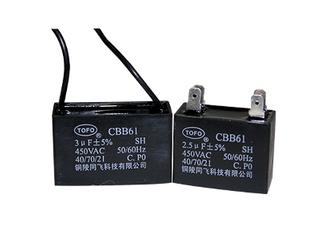 AC motor capacitor ---CBB61