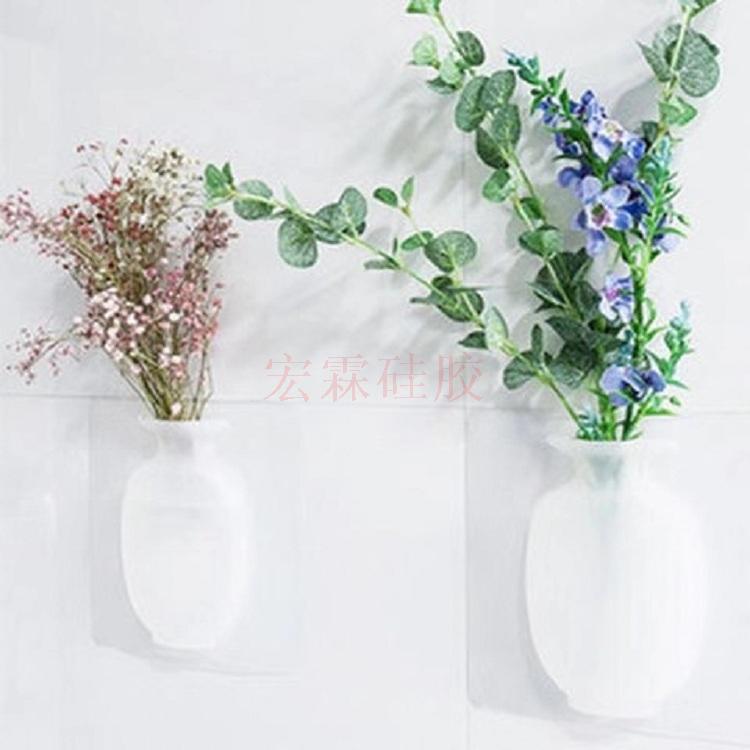 定制硅膠花瓶貼,硅膠花瓶貼墻廠家