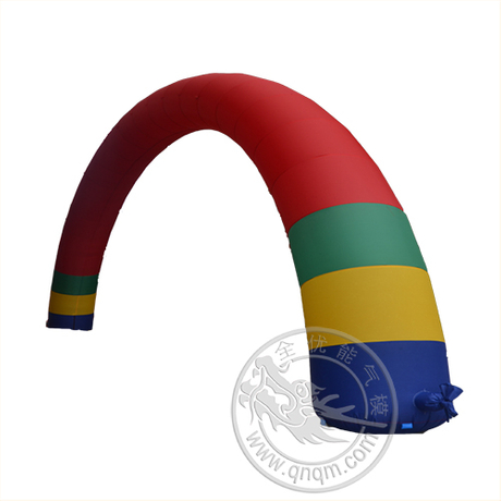 新款12米充气彩虹拱门