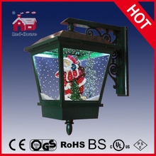 (LW40045D-G) Outdoor&Indoor Lighted Snowing Wall Lamp