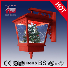 (LW40045S-R) Outdoor&Indoor Lighted Snowing Wall Lamp