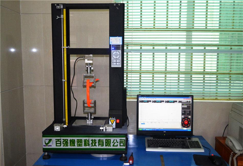 百强橡塑-专配测试包胶织带拉力,确保达标