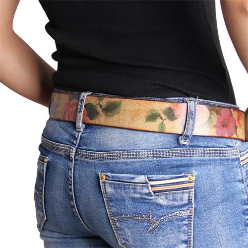 百强橡塑13年经验提供-女士腰带,时尚腰带,全能皮腰带-带有花纹的腰带