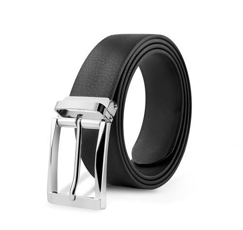 百强橡塑-黑色男士时尚腰带
