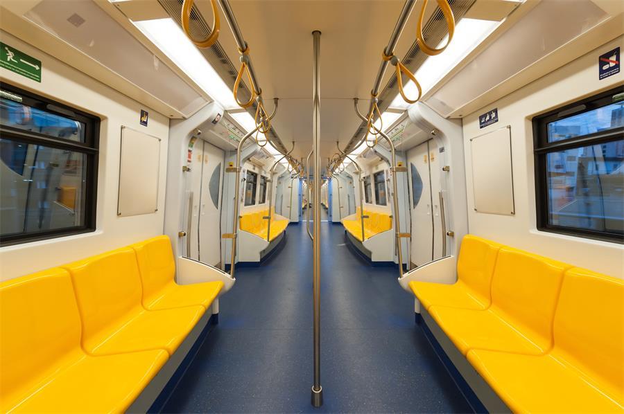 百强橡塑·地铁拉手带, 地铁拉手吊环, 地铁吊环拉手带-应用场景图