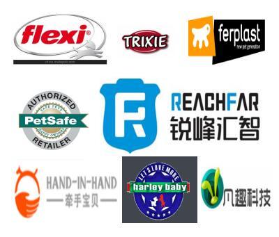 宠物项圈、宠物定位器项圈、宠物训练器项圈与百强橡塑合作的部分品牌厂家.jpg
