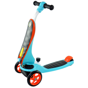 2 in 1 Scooter with Easy Conversion System and Smart Pulling Rope System