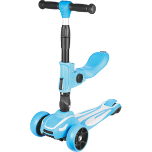 Tri-wheels foldable scooter with Seat