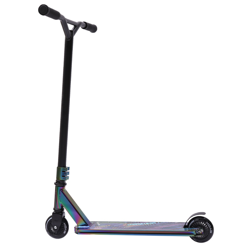Neon Chrome 2 Wheels Stunt Scooter