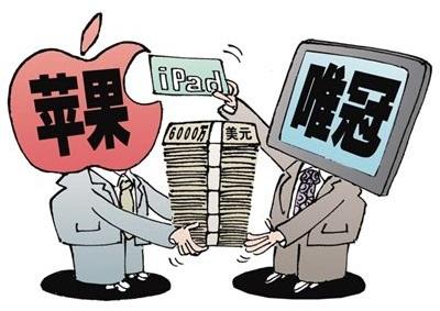 苹果Ipad商标侵权案