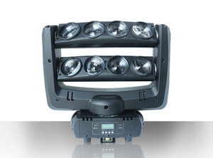 8x10W RGBW 4 IN 1 Infinite LED Disco Light