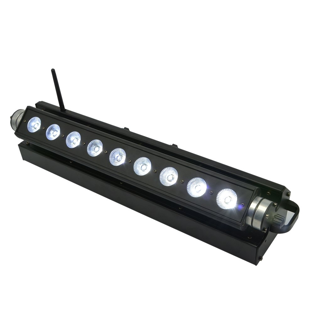9x15W RGBWA Wireless Battery LED Bar Light